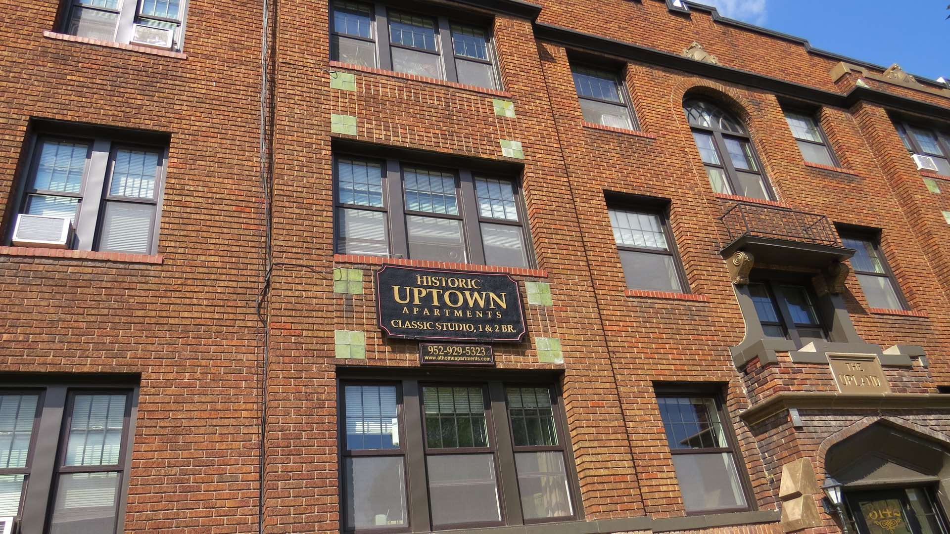 The Upland Historic Uptown Apartments exterior