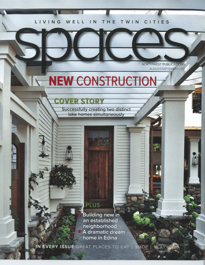 Spaces Magazine cover