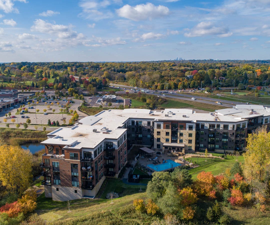 The Reserve at Mendota Heights drone