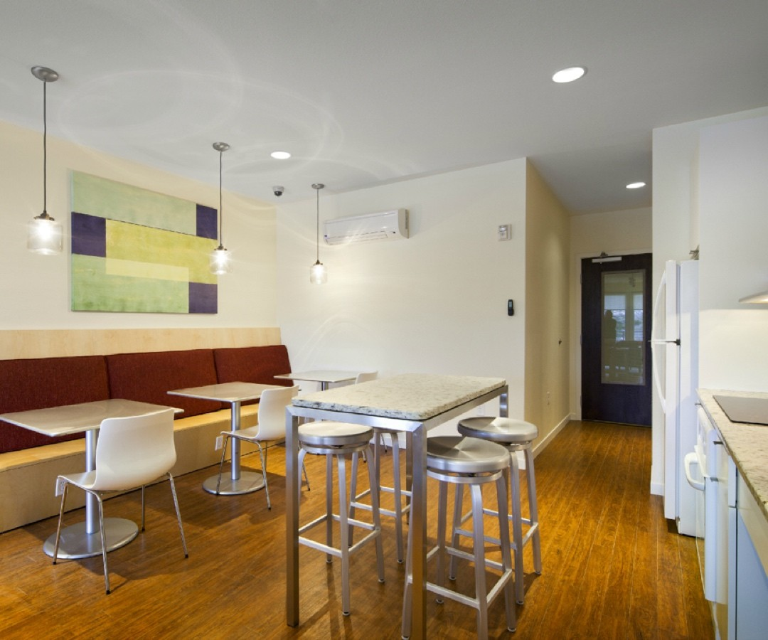 Parkway West Apartments community room